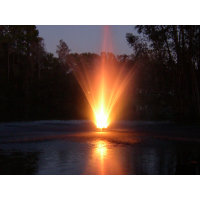 Lighted Pond Fountain EFL250 for 1 to 3 acre ponds