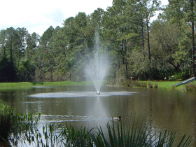 Pond Fountain - EFS1900 for up to 1 acre ponds